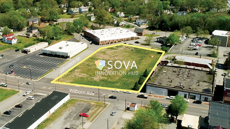 Aerial View of SOVA Innovation Hub