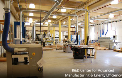 R&D Center for Advanced Manufacturing and Energy Efficiency